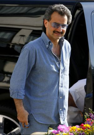 El príncipe Al Waleed bin Talal, en Beverly Hills (Los Ángeles).