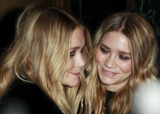 Mary Kate y Ashley Olsen.