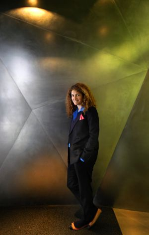 Ginevra Elkann, fotografiada el pasado martes en el Caixa-Forum de Madrid