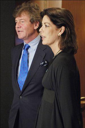 Ernesto de Hannover y Carolina de Mónaco.