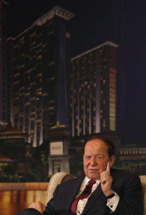 Sheldon Adelson, consejero delegado de Las Vegas Sands, fotografiado en Macao, China, el pasado 11 de abril.