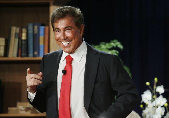 Steve Wynn, consejero delegado de Wynn Resorts, en una conferencia en Beverly Hills, California, en 2009.