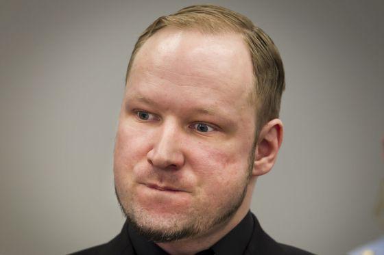 Anders Breivik, fotografiado el 20 de abril en los juzgados de Oslo.