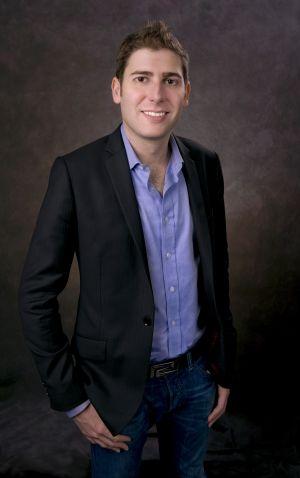 Un retrato oficial del cofundador de Facebook Eduardo Saverin de fecha desconocida.