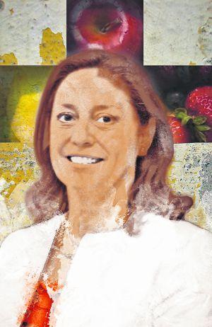 Ilustración de la endocrina y nutricionista Pilar Riobó.