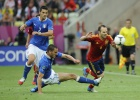 La Roja shows class but scrambles to tie Italy opener