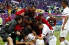 Portugal breathes again after nervy win over Denmark