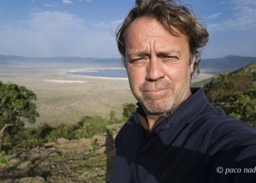 Atasco de leonas y todoterrenos en el Ngorongoro