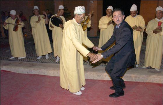 Gad Elmaleh, en una visita al Festival Internacional de Cine de Marrakech.