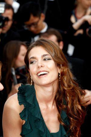 """Carlota Casiraghi, a su llegada a la proyección de """"Madagascar 3"""" en el último Festival de Cine de Cannes, el pasado 18 de mayo."""