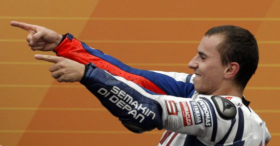 Jorge Lorenzo was world champion for Yamaha in 2010.