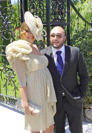 Jessica Bueno y Kiko Rivera en la boda de Tamara Gorro con el futbolista Ezequiel Garay.