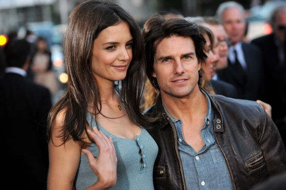 Tom Cruise y Katie Holmes.