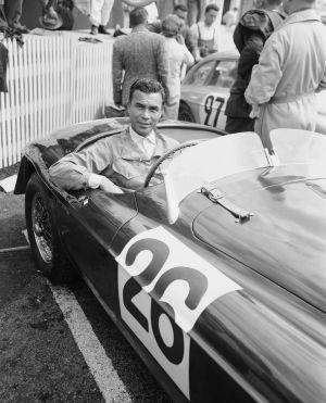 Porfirio Rubirosa, en las 24 horas de Le Mans, en 1950.