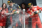 Alonso positive on Ferrari after Webber pips him at British GP