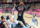 Las estrellas de la NBA encestan para Obama