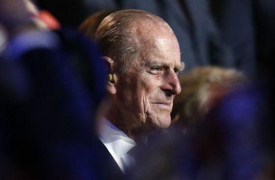 El duque de Edimburgo, el 27 de julio, durante la ceremonia de inauguración de los Juegos de Londres.