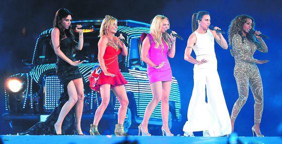 Las Spice Girls actuaron en la ceremonia de clausura de los Juegos Olímpicos 2012 de Londres. Unos juegos en los que