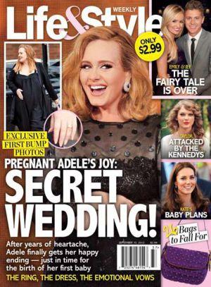 Las primeras fotos de Adele embarazada