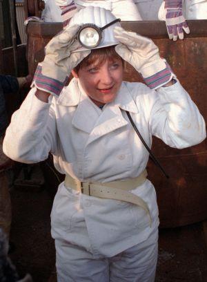 Merkel, en su etapa como ministra de Medio Ambiente, en 1995.