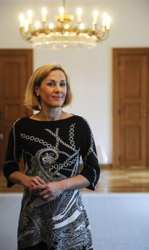 Bettina Wulff, esposa del expresidente alemán Christian Wulff, fotografiada en 2010 en el palacio de Bellevue (Berlín).