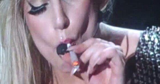 """Lady Gaga: """"La marihuana es el nuevo símbolo de la paz"""""""