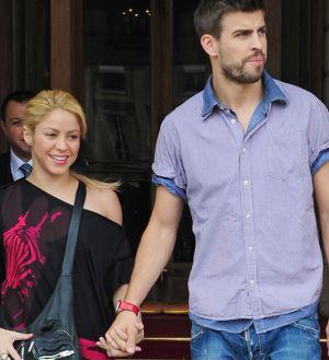 Shakira y Piqué, en una imagen del verano pasado.