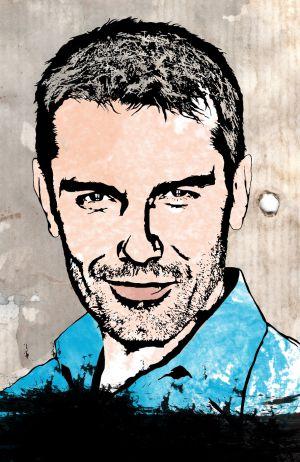 Ilustración del presentador Jesús Vázquez.