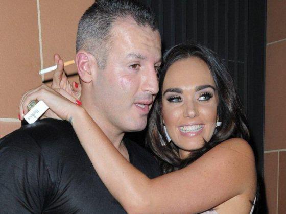 Omar Khyami y Tamara Ecclestone, en una imagen de marzo, cuando eran pareja.