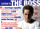 Springsteen, en campaña a favor del matrimonio gay