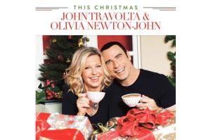Portada del disco 'This Christmas', de John Travolta y Olivia Newton-John.