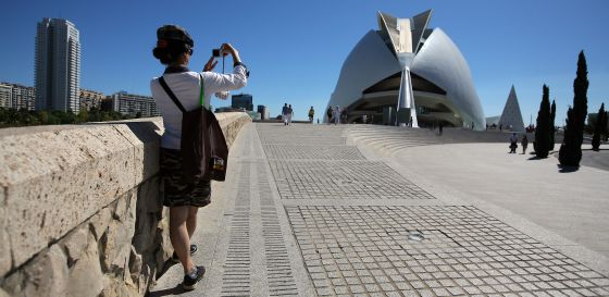 Valencia's Palau de les Arts, which is facing financial collapse due to budget cuts.