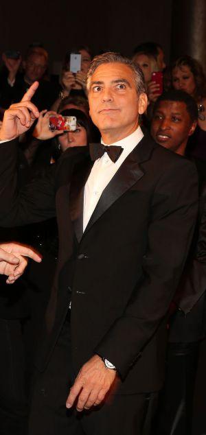 George Clooney, en un evento benéfico el pasado 20 de octubre.