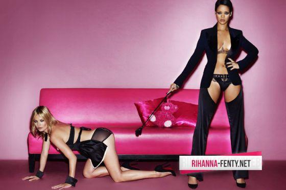 Kate Moss y Rihanna posan para la revista 'V Magazine'