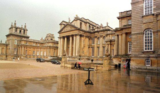 El palacio de Blenheim, que vuelve a estar en la herencia del controvertido marqués.