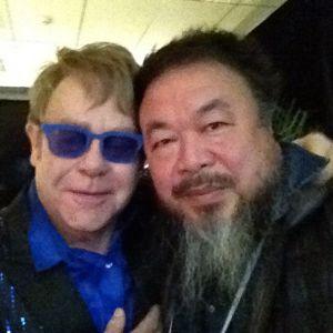 La fotografía que colgó en su Instagram el artista Ai Weiwei.