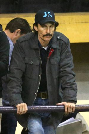 Matthew McConaughey, en el papel de Ron Woodroof.
