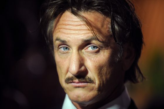 El actor Sean Penn.