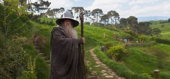 Ring back: Ian McKellen returns as Gandalf the wizard  in Peter Jackson's The Hobbit: An Unexpected Journey