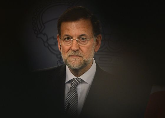 Prime Minister Mariano Rajoy, photographed at a November 27 press conference