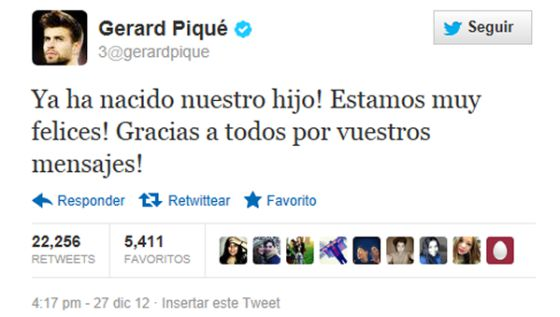 La inocentada de Gerard Piqué.