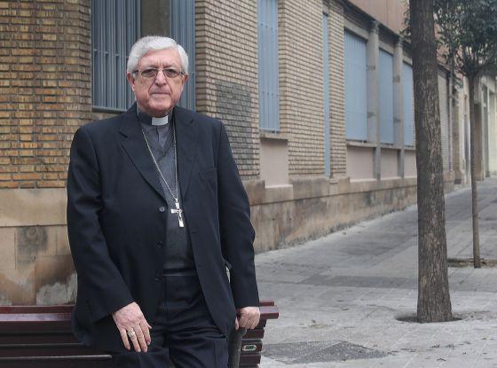 Joan Piris, the bishop of Lleida, in Catalonia.