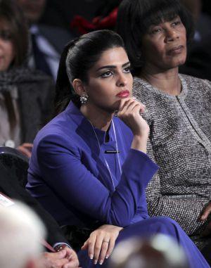 Ameerah al Taweel asistió a la Clinton Global Initiative, en Nueva York, en septiembre, para hablar sobre la 'primavera árabe' en una mesa redonda organizada por el expresidente estadounidense.