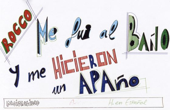 One of Rafael Sánchez´s posters.