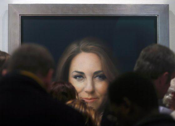 El retrato oficial de Kate Middleton.