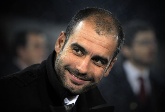 Former Barcelona player and coach Pep Guardiola.