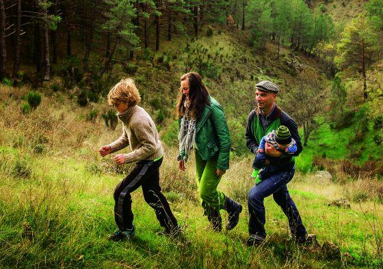 Mateo, Virginia, Jon y Goran, queviven en el campo.