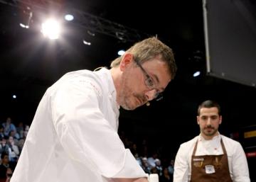 Andoni Aduriz, Marcelo Tejedor y sus comidas en spray