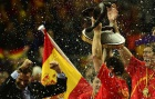 Spain sweeps to world handball title