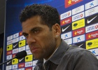 "Racism in soccer is a ""lost battle"" says Barcelona's Dani Alves"